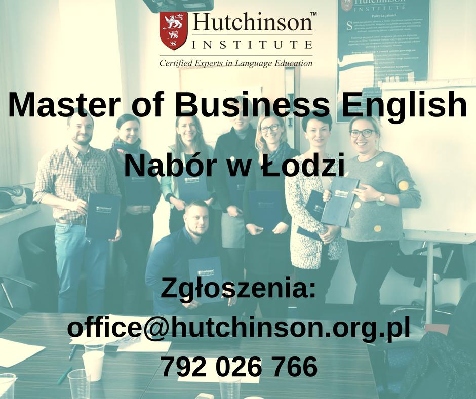 MBE Master of Business English – Łódź