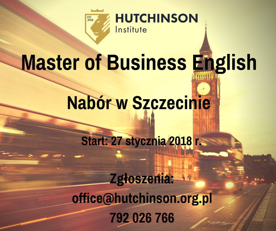 MBE Master of Business English – Szczecin